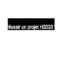 Vous voulez réussir un projet H2020